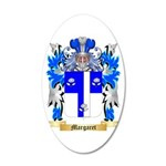 Margaret 20x12 Oval Wall Decal
