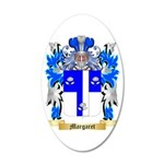 Margaret 35x21 Oval Wall Decal