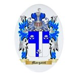 Margaret Oval Ornament