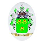 Margaliyot Oval Ornament