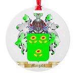 Margalit Round Ornament