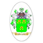 Margalit Sticker (Oval 10 pk)