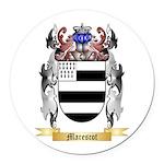 Marescot Round Car Magnet
