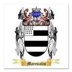 Marescalco Square Car Magnet 3