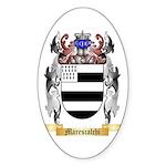 Marescalchi Sticker (Oval 50 pk)