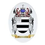 Marescalchi Oval Ornament