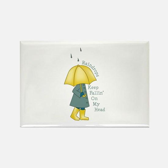 Raindrop Saying Magnets
