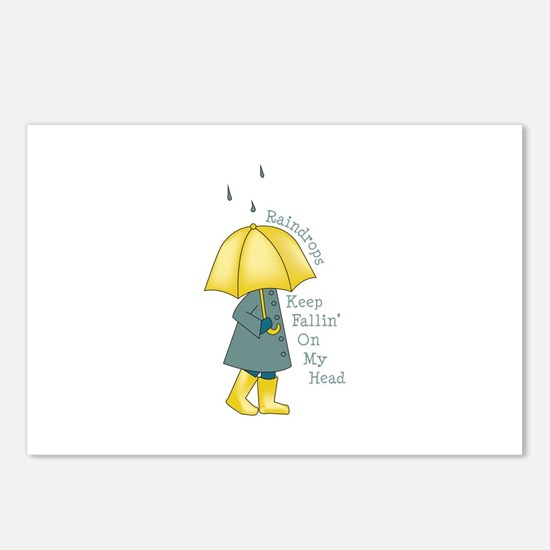 Raindrop Saying Postcards (Package of 8)