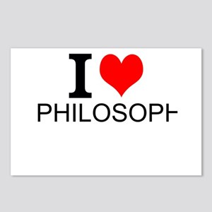 I Love Philosophy Postcards (Package of 8)