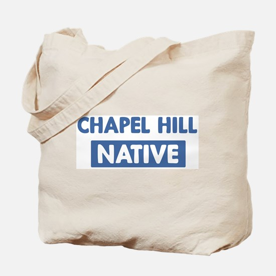 CHAPEL HILL native Tote Bag