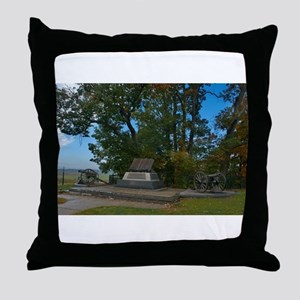 Gettysburg National Park - High Water Throw Pillow
