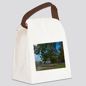 Gettysburg National Park - High W Canvas Lunch Bag