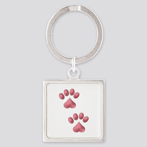 Heart Paws Keychains