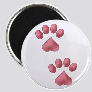 Heart Paws Magnets
