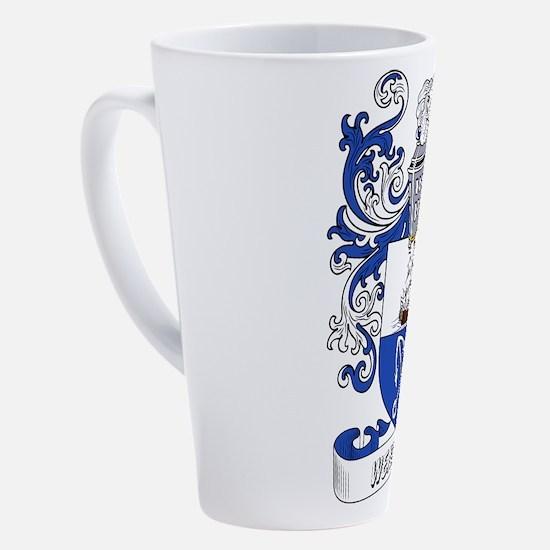 Cute Coat arms 17 oz Latte Mug