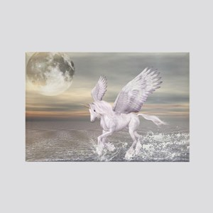 Pegasus-Unicorn Hybrid Rectangle Magnet