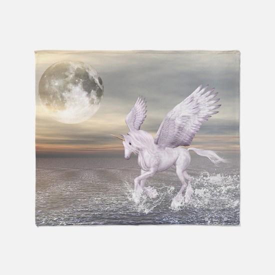 Pegasus-Unicorn Hybrid Throw Blanket