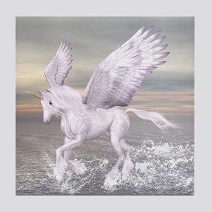 Pegasus-Unicorn Hybrid Tile Coaster
