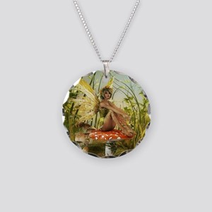Indian Summer Fairy Necklace Circle Charm