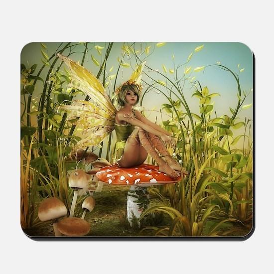 Indian Summer Fairy Mousepad