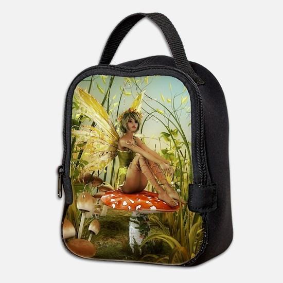 Indian Summer Fairy Neoprene Lunch Bag