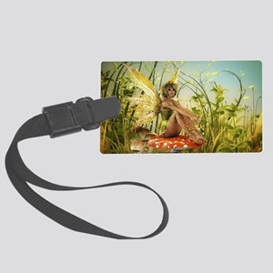 Indian Summer Fairy Large Luggage Tag