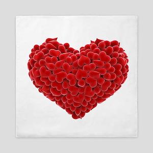 Heart of Hearts Queen Duvet