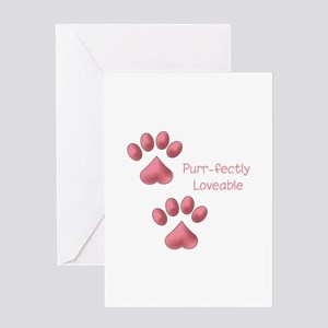 Purr-fectly Loveable Greeting Cards