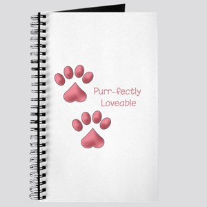 Purr-fectly Loveable Journal