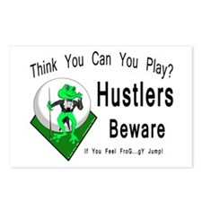 Hustlers Pool Playing Fro Postcards (Package of 8)