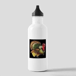 Thanksgiving Wild Turk Stainless Water Bottle 1.0L