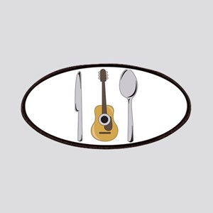 Utensils And Guitar Patch
