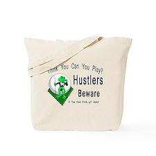 Hustlers Pool Playing Frog Tote Bag