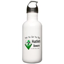Hustlers Pool Playing Stainless Water Bottle 1.0L