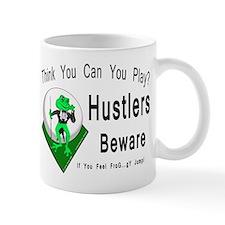 Hustlers Pool Playing Frog Mug