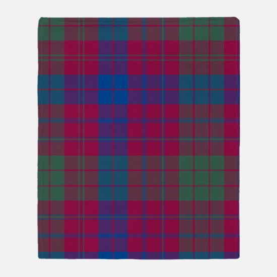 Tartan - Ross Throw Blanket