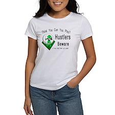 Hustlers Pool Playing Frog Women's T-Shirt
