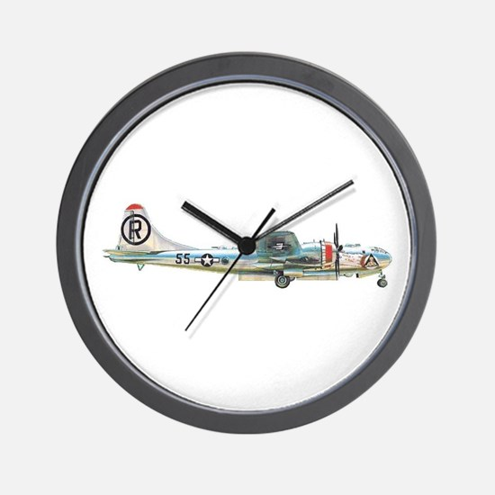 Cute B 29 Wall Clock