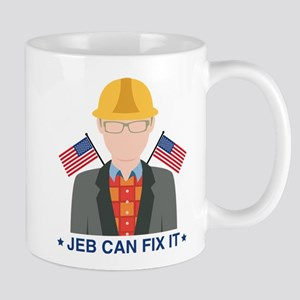 Jeb Can Fix It Mug