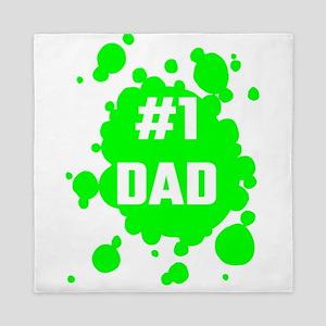 Number One Dad Queen Duvet