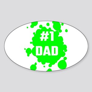Number One Dad Sticker