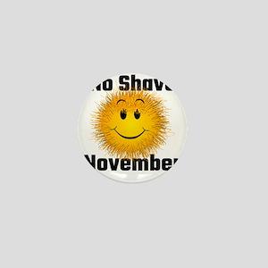 No Shave November Mini Button