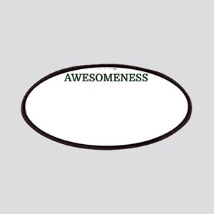 No, my master's degree is not in AWESOMENESS Patch