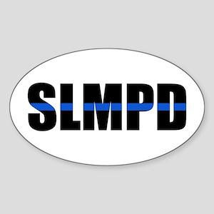 SLMPD Blue Line Oval Sticker