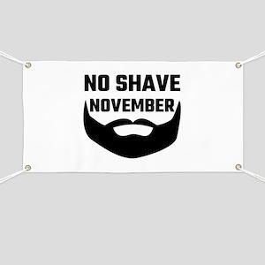 No Shave November Banner