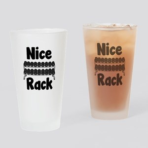Nice Rack Drinking Glass