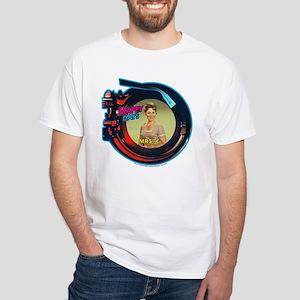 Happy Days: Mrs. C. Jukebox White T-Shirt