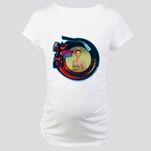 Happy Days: Mrs. C. Jukebox Maternity T-Shirt