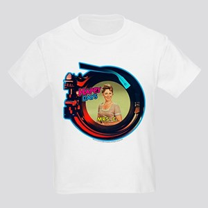 Happy Days: Mrs. C. Jukebox Kids Light T-Shirt