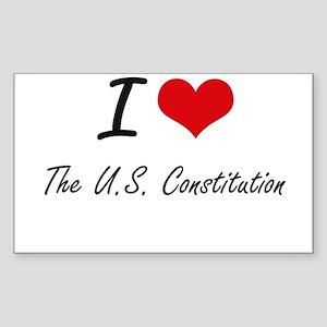 I love The U.S. Constitution Sticker